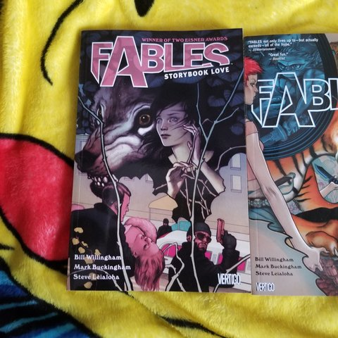 Fables Comic Book