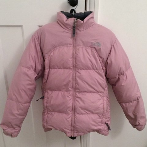 eafcb4eab5 ... coupon for baby pink north face goose down puffer womens size medium a  depop 185a7 e9523