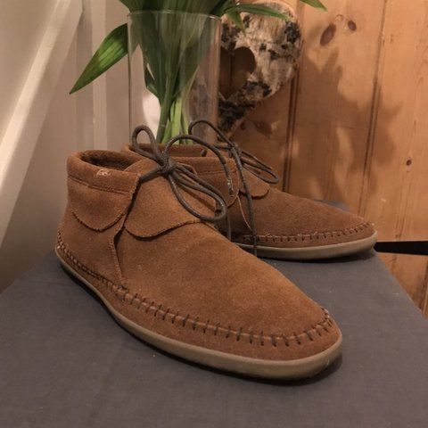 c265e11487 New and unused brown suede Vans