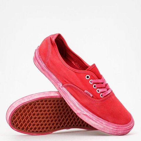 5a98aa0d60 Vans Authentic CA (Over Washed) Chili Pepper Size 8     New - Depop