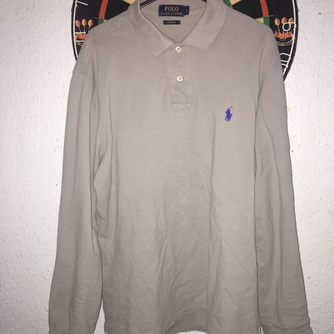 348c9fc0 @a_g_shop. 2 months ago. London, United Kingdom. Men's Ralph Lauren long  sleeve polo Custom Fit ...