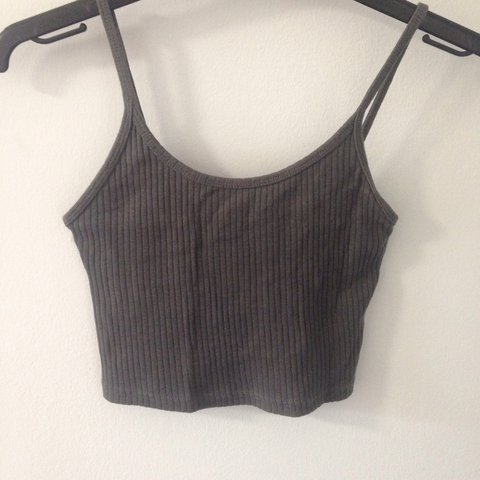 09f92dabf18 @marigonaa___. 2 years ago. Manchester, United Kingdom. Summer and festival  must have!! Grey topshop ribbed crop top. Size 6 but will fit ...