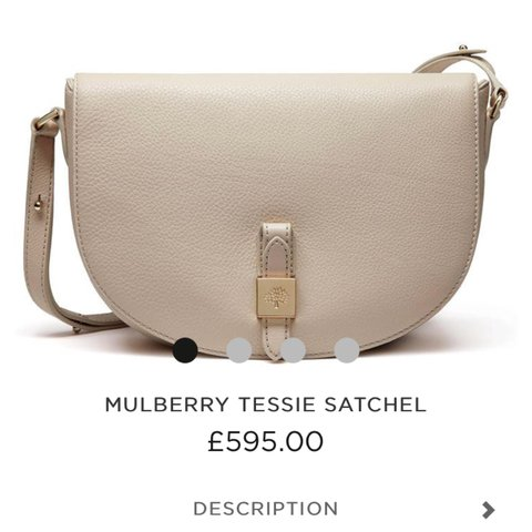 e6b4ea5cd002 Selling this 100% authentic Mulberry Tessie satchel in Black - Depop