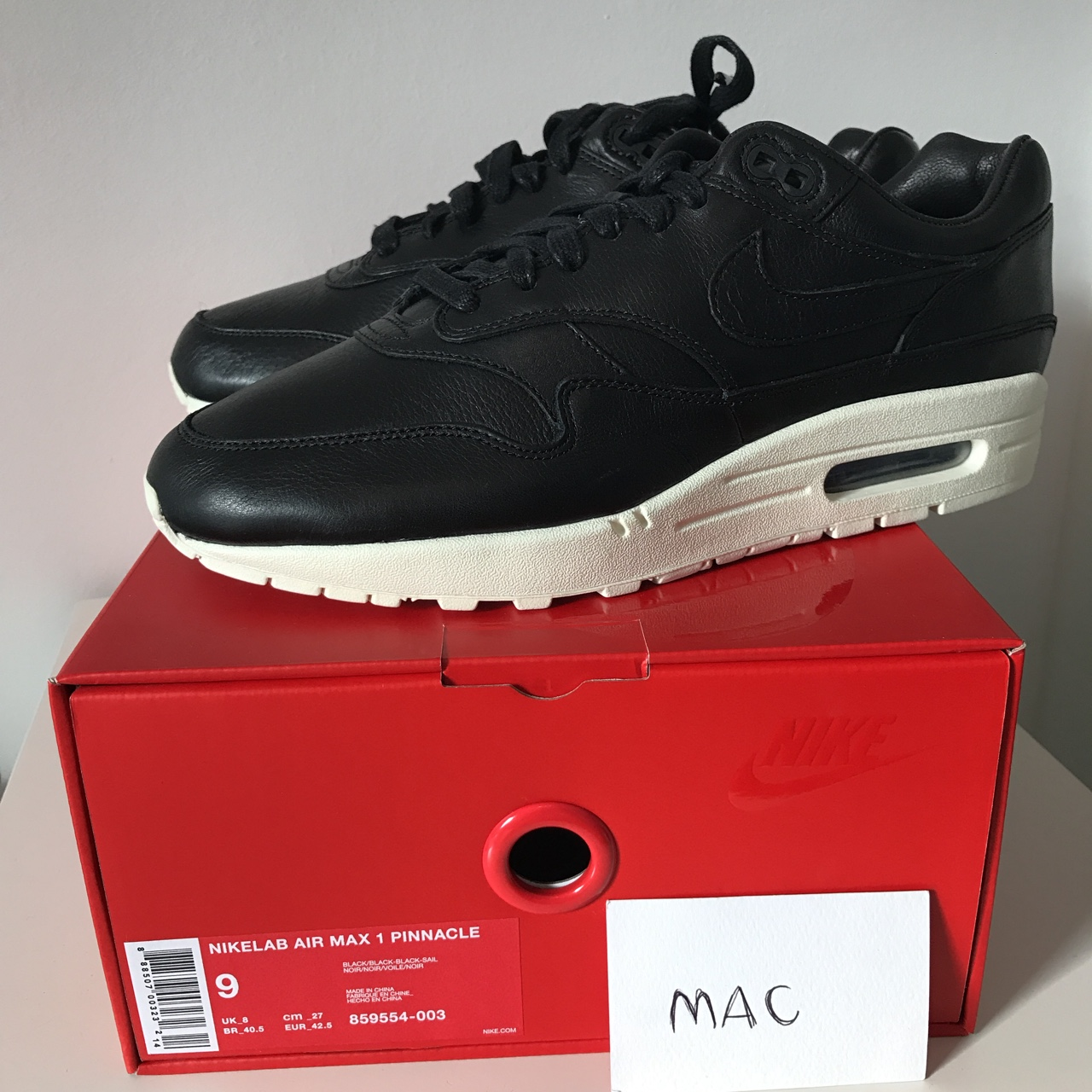 Nike Lab Air Max 1 Pinnacle 859554 003 DS Never worn