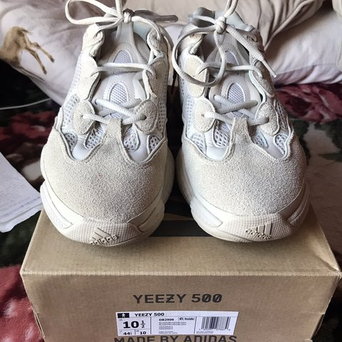 cda4f9846e8ba adidas Yeezy Boost 500 Blush Size 10.5 NO TRADES TRADE AND - Depop