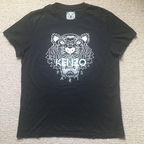 9c155d361 @cherrywoods. 3 years ago. Maidenhead, Windsor and Maidenhead, UK. Kenzo  jungle black T shirt. Bought in Brown Thomas ...