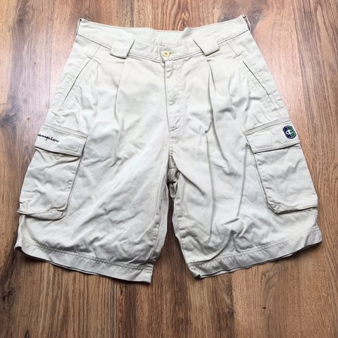 829673a5c1 Vintage Champion Cargo Shorts (D166) FREE SHIPPING Size - - Depop