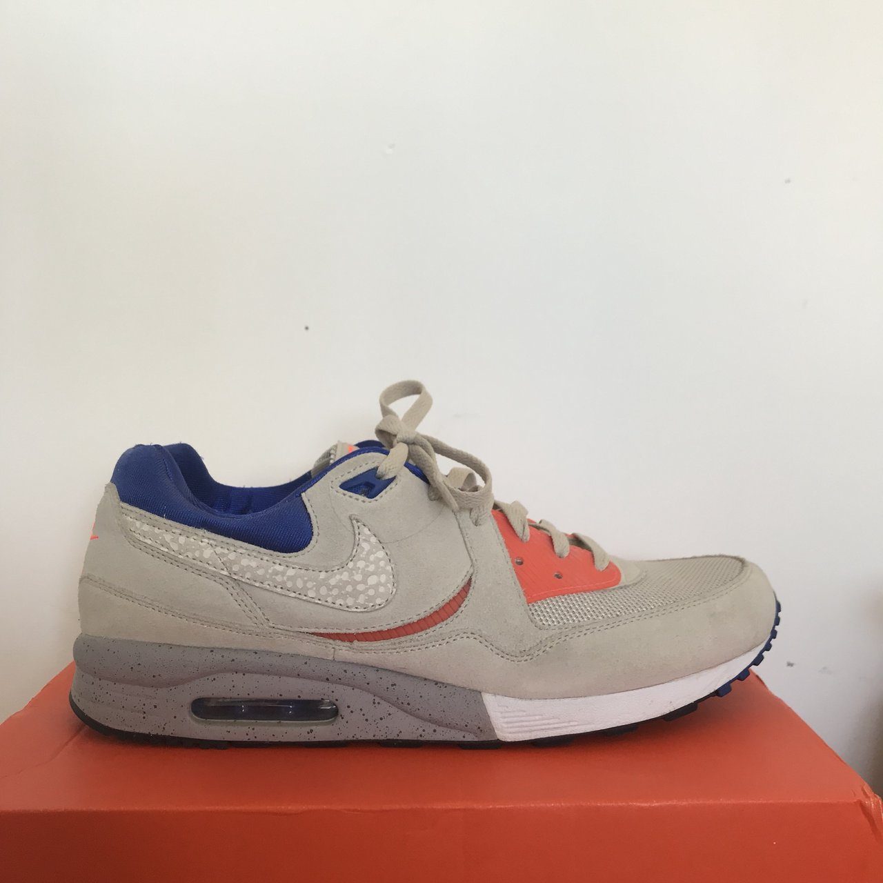 e35749f607 @caramelised_golf. 9 months ago. Brighton, United Kingdom. Nike air max  light, Size? Exclusive. Urban Safari pack, Desert sand ...