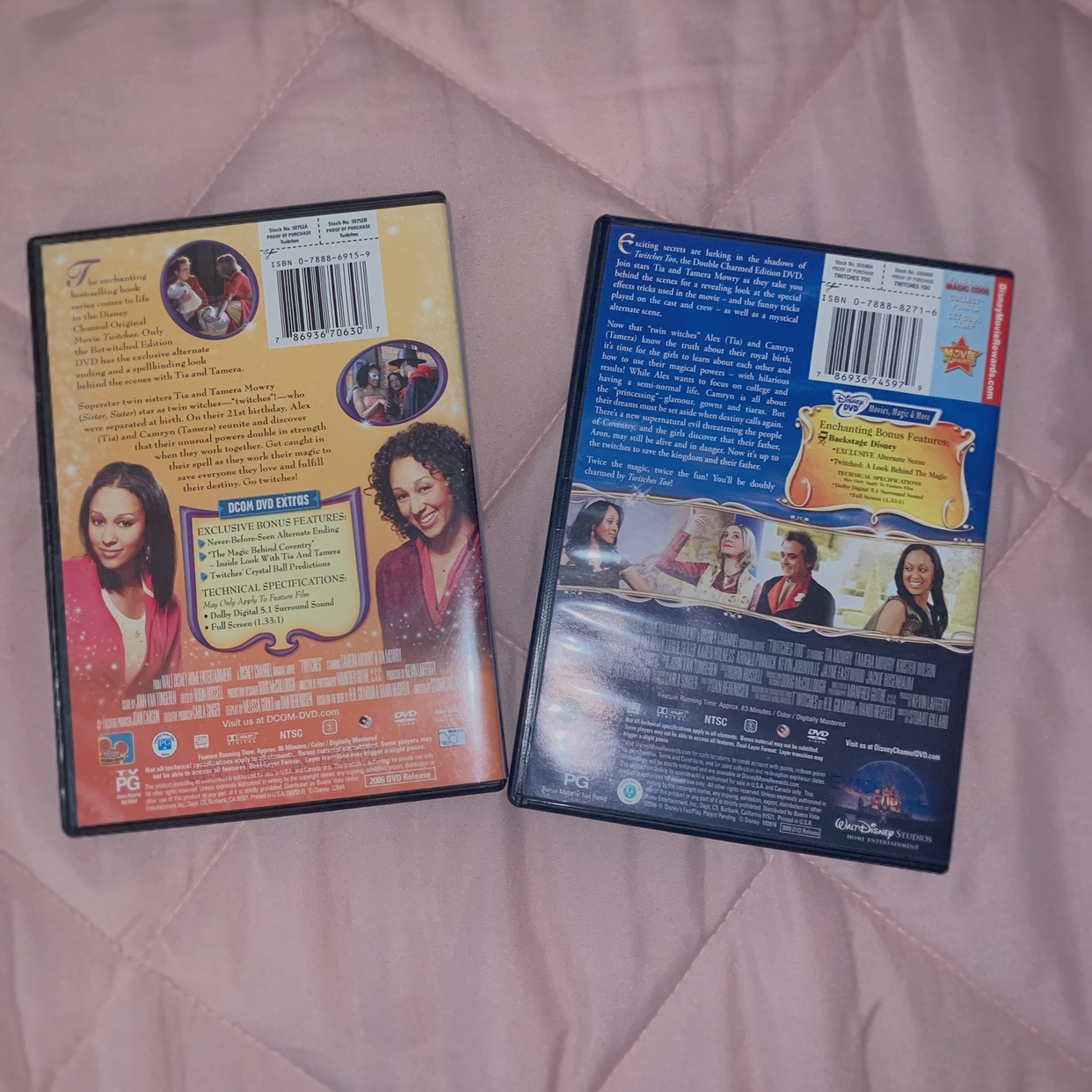 Disney DVD -Twitches & Twitches Too -individually $5    - Depop