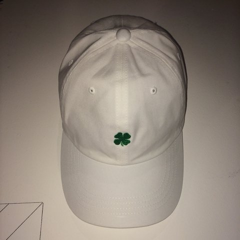 5f9906064b7aa Huf St Paddys Day Dad Hat   So basically I ordered this hat - Depop