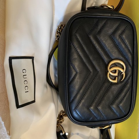 5a645ec97bb8 @lucykind786. last month. Coventry, United Kingdom. Gucci Mini Marmont Bag.