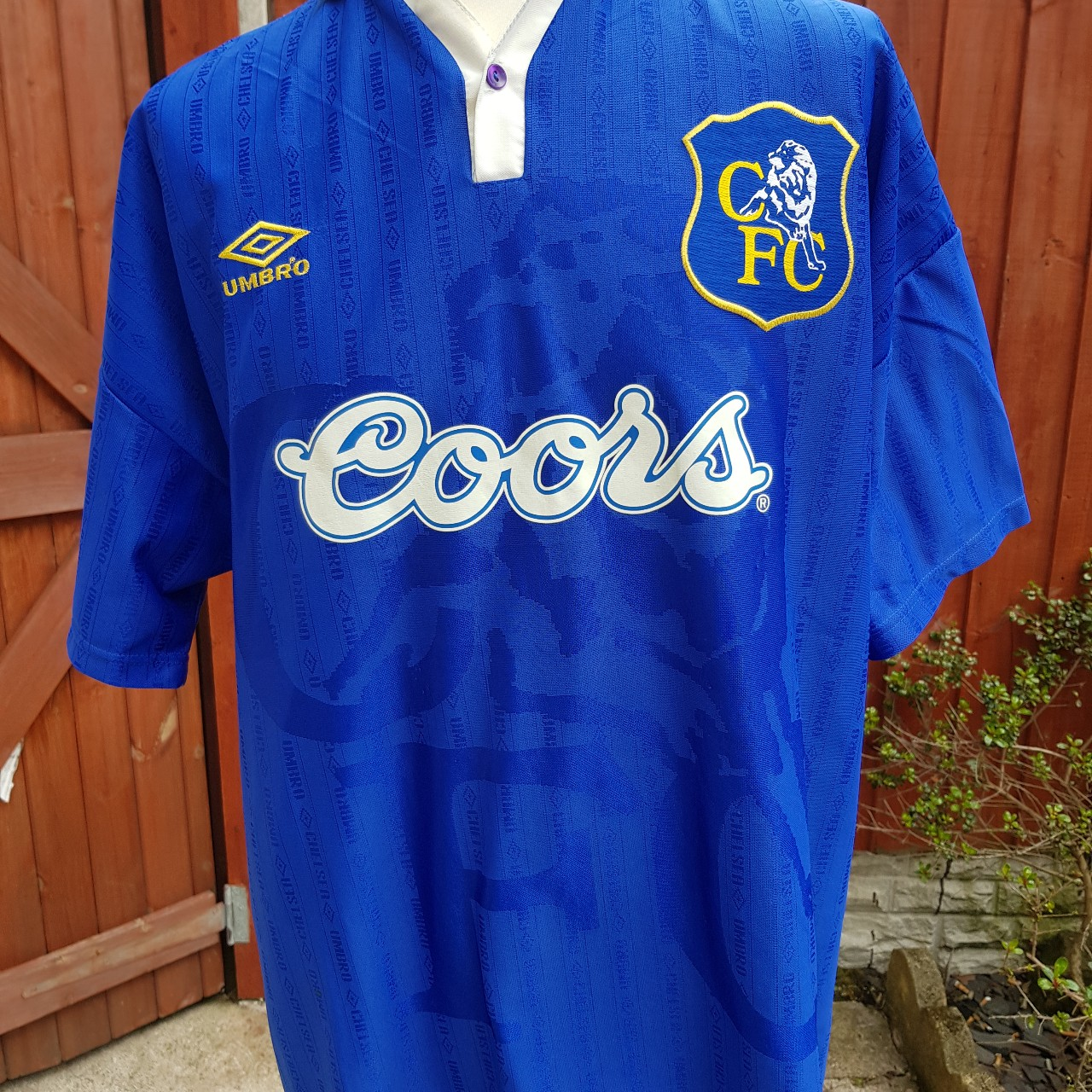 online store 0c787 71aec CHELSEA FOOTBALL SHIRT 1995 HOME TOP VERY GOOD ...
