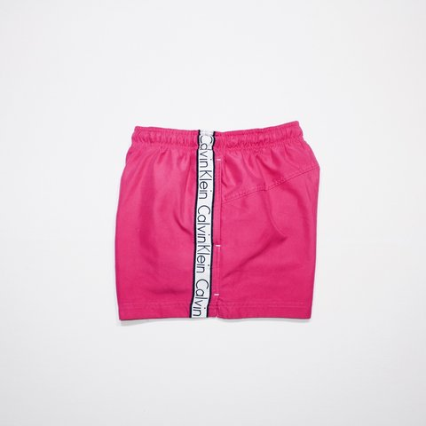 0e1eaedee4 @harrisdukeuk. 10 months ago. United Kingdom. Calvin Klein Swim Shorts - Hot  Pink ...