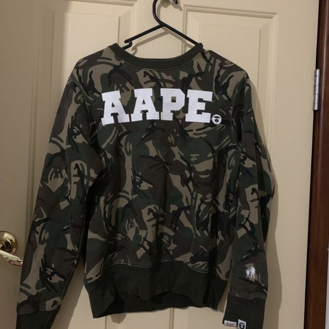 f364bd98 @rtilley11. 18 days ago. Llandilo, Australia. CAMO BATHING APE JUMPER