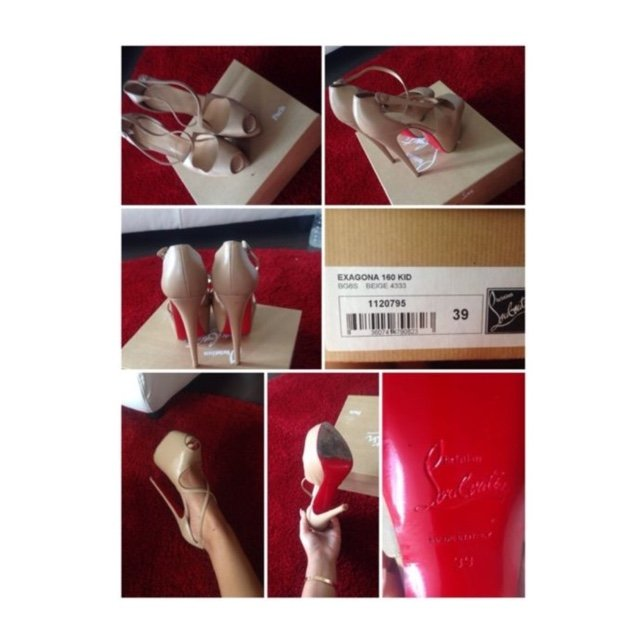4107f7d87b52 Red bottoms. Used. Christian Louboutin. - Depop
