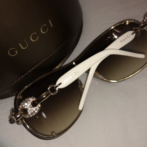 515ebbe838c Gucci sunglasses ⚡ authentic ⚡ never been worn 😎 - Depop