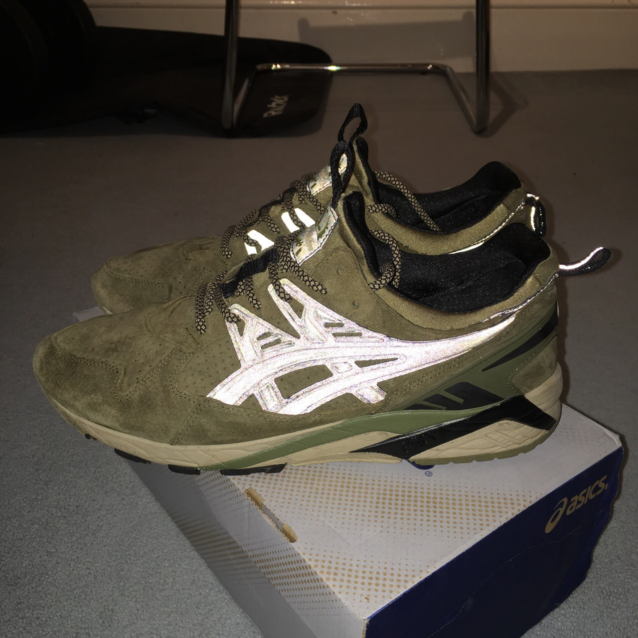 new style 5fa24 c6706 RARE Footpatrol x ASICS GEL Kayano Trainer / UK size ...
