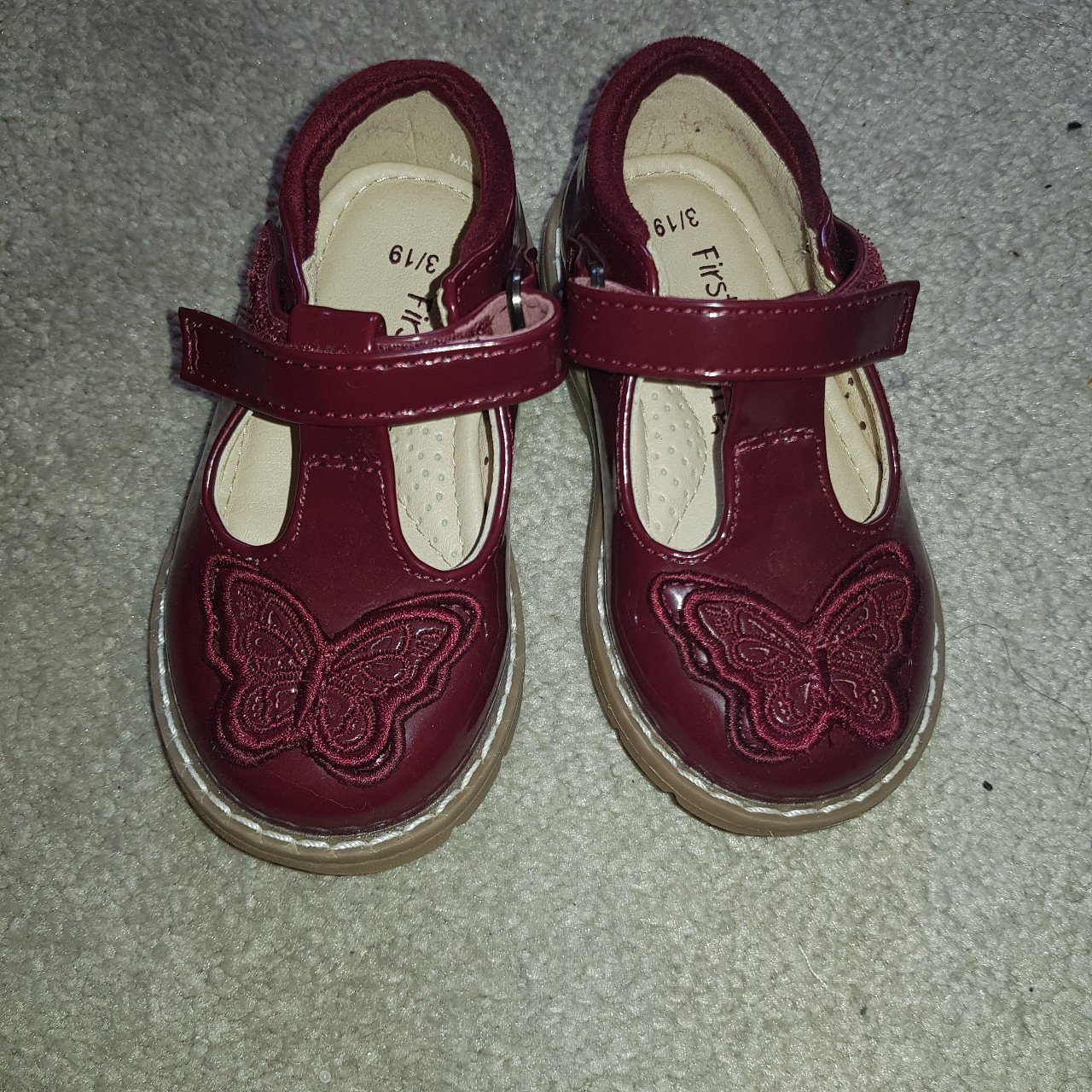 my first walkers. Size 3. Never worn