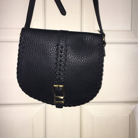 cdc066692d88 Small black bag perfect for day or evening! Adjustable strap - Depop