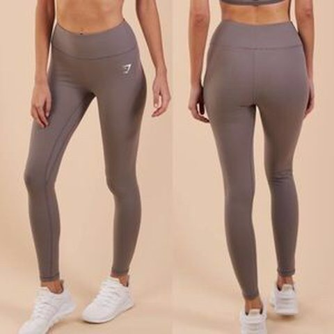 b696054fb5f81 cheapest currently on depop* gymshark dreamy leggings slate - Depop