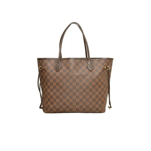 fe6eceeeaa97 Louis Vuitton Damier Neverfull MM Tote Bag New items are I - Depop
