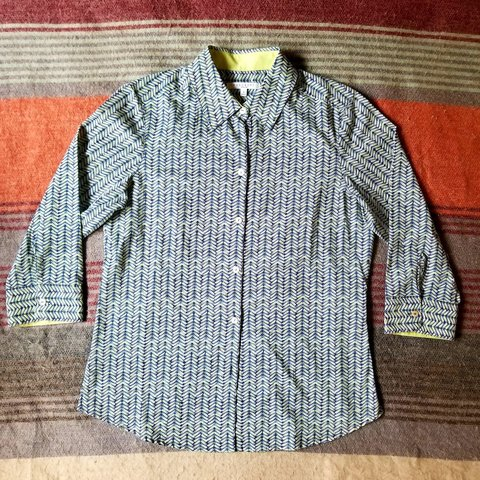 c45c9c88 @openroadsmarket. 2 months ago. Tom Bean, Grayson County, United States.  Foxcroft Wrinkle Free Shaped Button Down Blouse