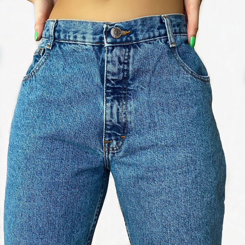 The Perfect Pair of Vintage Straight Leg Jeans