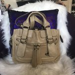 0c64cc75e35 Brand CHLOE Style Shoulder Hand Bag Color/Material Beige/ Leather Country of