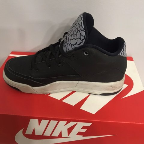 a4981ec9d41c39 Nike Air Jordan Flight UK 1 Black with grey detail Good No - Depop