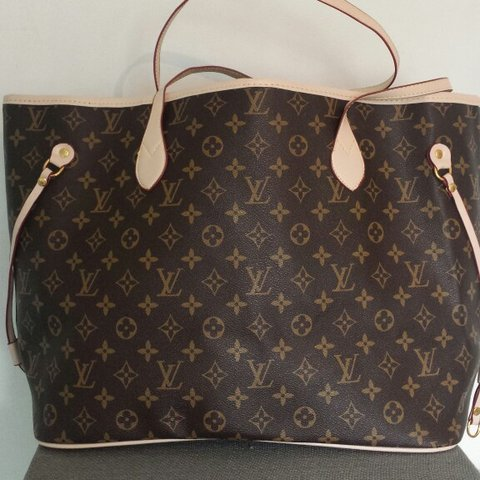 NEVERFULL LV replica. Never worn. Size MM. Great deal. PU - Depop d9fcef4489893