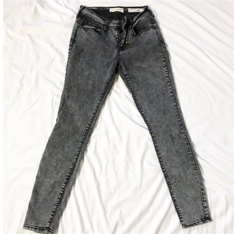 0f7a31acc490a Like New. Worn Once. Grey/Black Jeggings by Bullhead/PacSun. - Depop