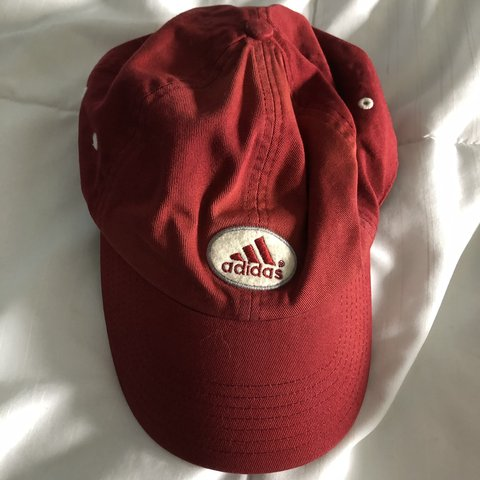7da5486ac0b @13orless. 3 months ago. Milton, United States. Red Adidas Hat Baseball cap.  One size fits all