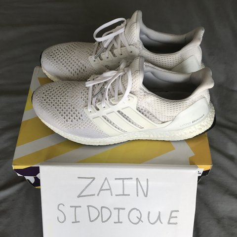 ad1c0eb90 Adidas Ultra Boost 1.0 Triple White as worn by Kanye West on - Depop