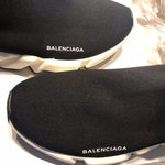 d1c6ea3686d73 Black Leather Balenciaga Arena sneakers.  300 · Men s Balenciaga speed  trainers If