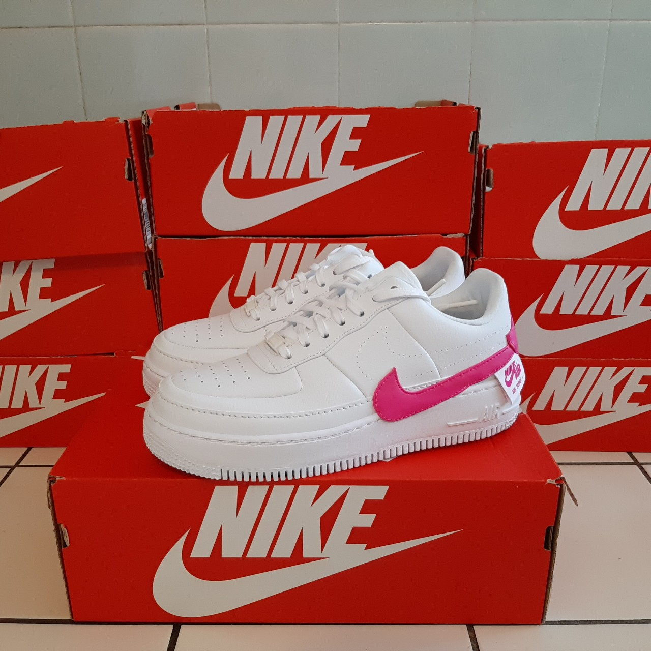 Nike Air Force 1 Jester pink/white