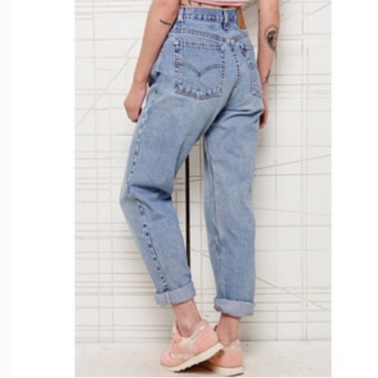 b4b82abb @theresalechic. 4 days ago. Durand, Wisconsin, US. Vintage Levi's 550 High  Waisted Mom Jeans