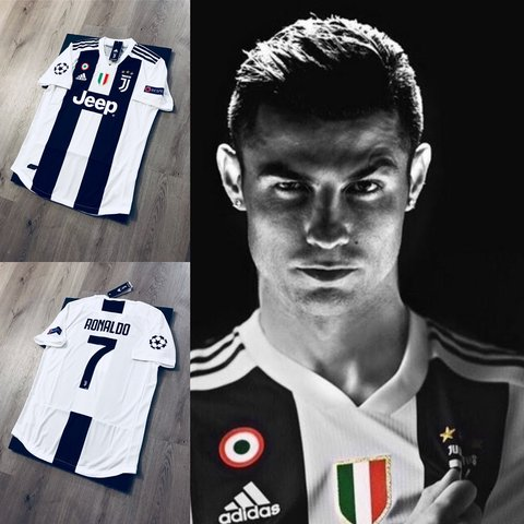 706fc084a72 @433store. last month. Miami, United States. Cristiano Ronaldo soccer jersey.  Juventus home