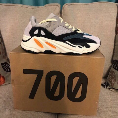 2589c71ee Yeezy boost 700 brand new never worn size 6 Look at my page - Depop