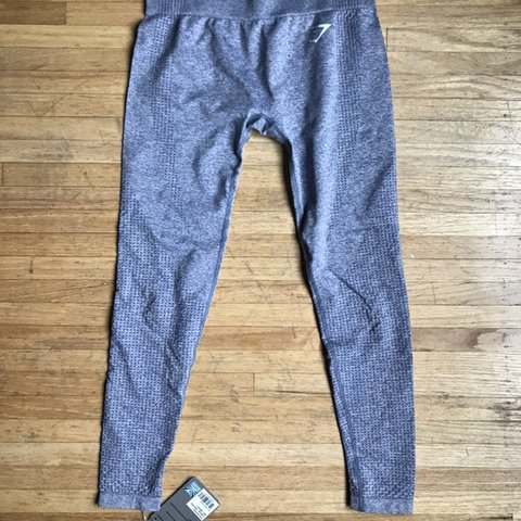 84c121b81ca88 @livs__closet. 29 days ago. Cache Creek, Canada. GYMSHARK VITAL SEAMLESS  LEGGINGS INTHE COLORWAY STEEL BLUE MARL