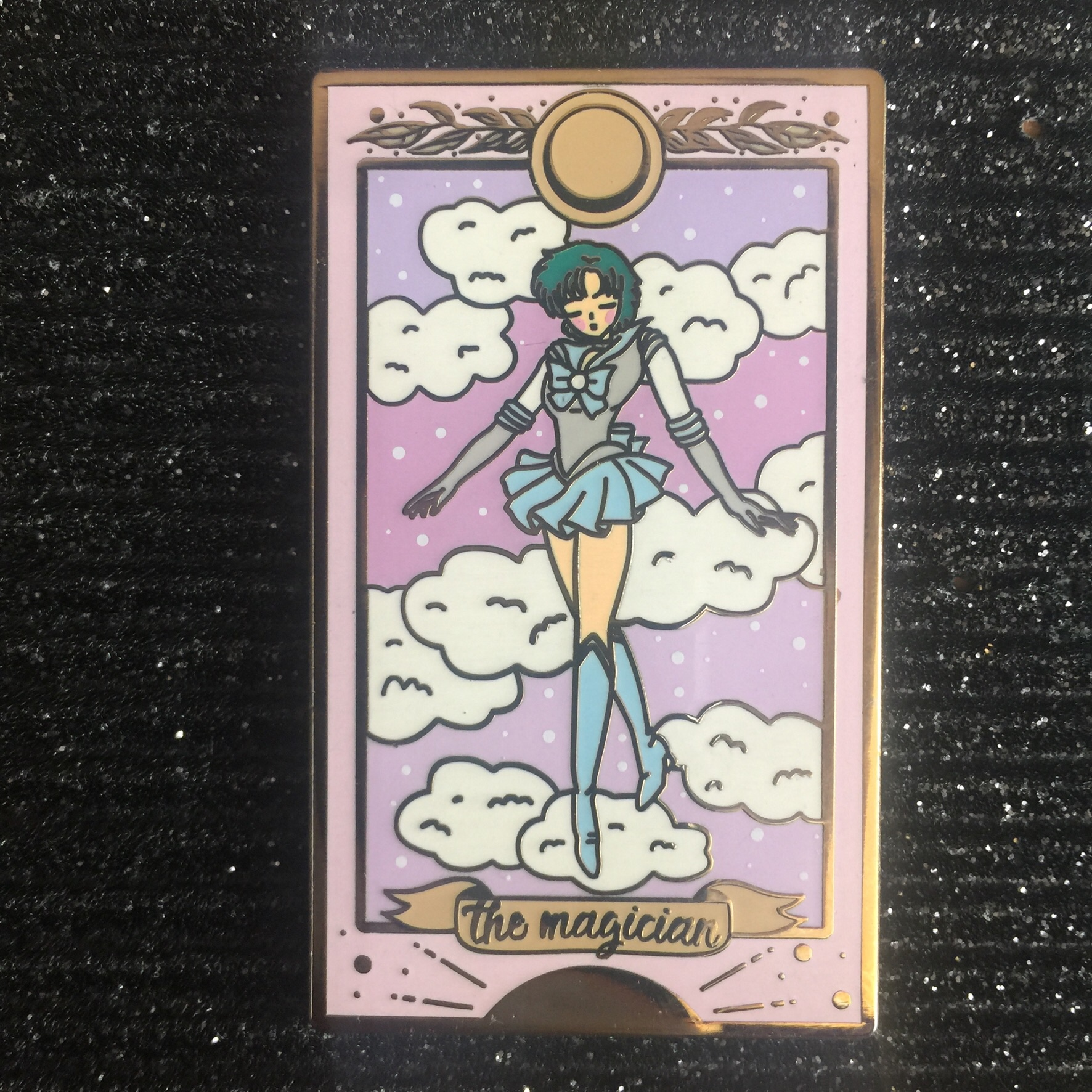 Sailor Moon - Sailor Mercury/ The Magician Tarot    - Depop