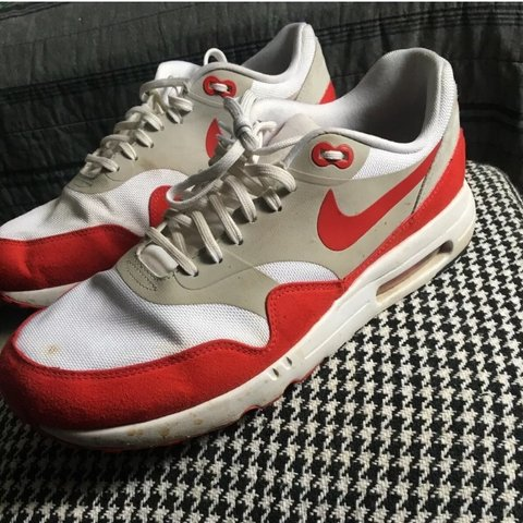 on sale e919e 47728  adaml3923. 24 days ago. Humarock, United States. Nike Air Max 1 Ultra 2.0  LE Air Max Day 3.26 Red Shoes Size 10.5