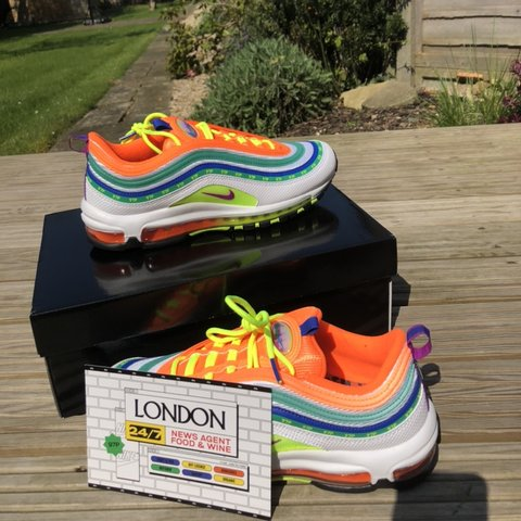 info for d3081 58153  joecollinge842. 20 days ago. London, United Kingdom. ◾️Nike On Air London  Air Max 97  Summer Of Love  By Jasmine Lasode
