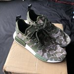52c6c7885 Adidas NMD Glitch Camo Size 11 Comes with Laces 8 10 - Depop