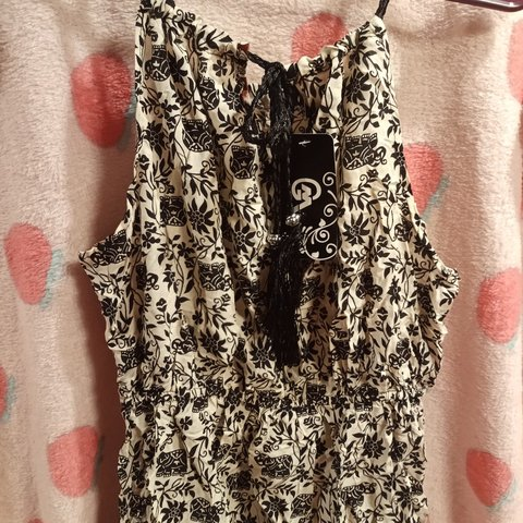 748daeb7c2 New with tags breezy sundress. Size XL with cute elephants - Depop