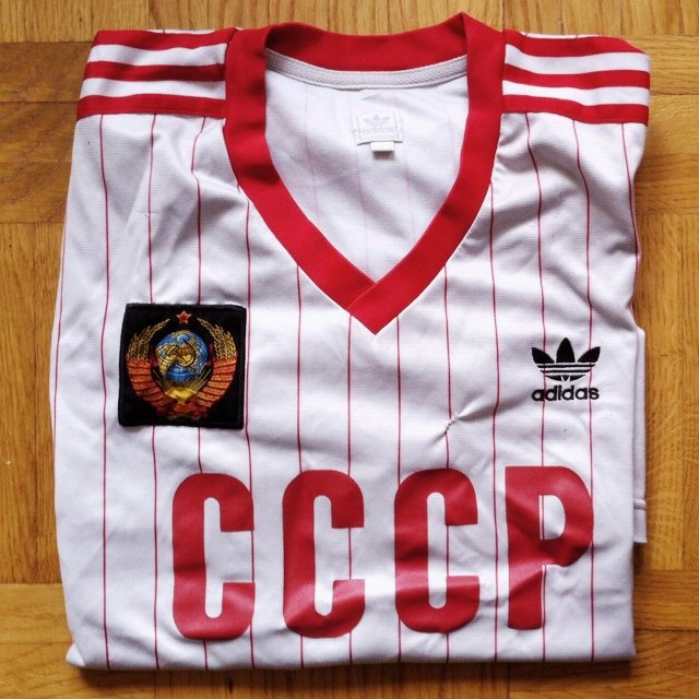 Adidas originals USSR 1980's football shirt (size Depop