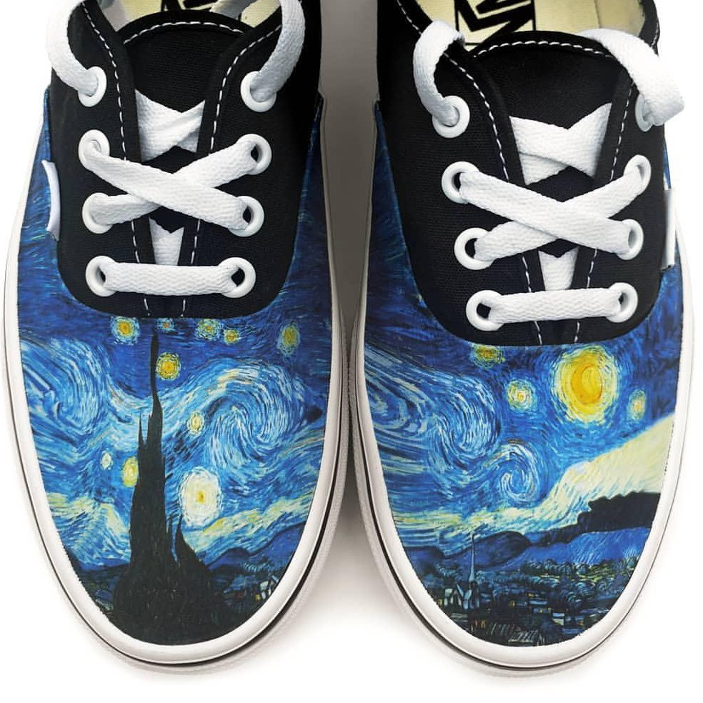 804f86049df5e Starry Night Authentic Style Vans. Available in... - Depop