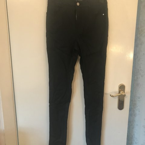 fd42c7b9 @karcher. 6 months ago. Lincoln, United Kingdom. MISSGUIDED HIGH WAISTED  COATED BLACK SKINNY JEANS ...