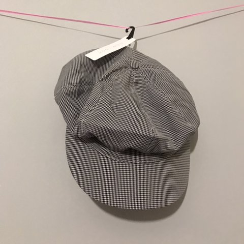 cbc3aee5a9560  handhfashion2019. in 12 hours. United Kingdom. New look black houndstooth check  baker boy hat.