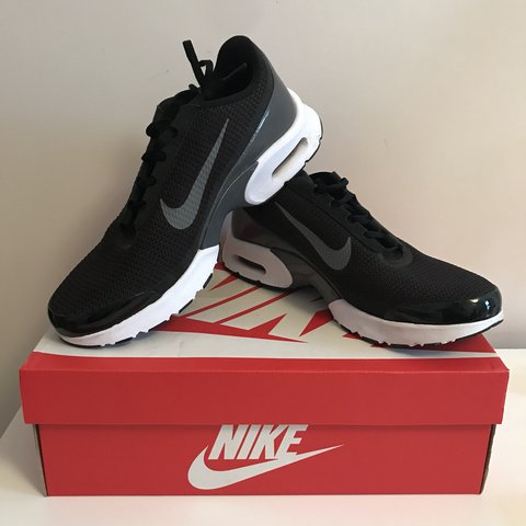 864c6787b9 Black and white Nike air max Jewell trainers ! Worn once, as - Depop
