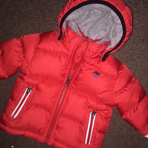 ca088d985 @hollis123. 2 years ago. Tantobie, United Kingdom. Timberland baby boys  puffa jacket coat in red size 6m ...